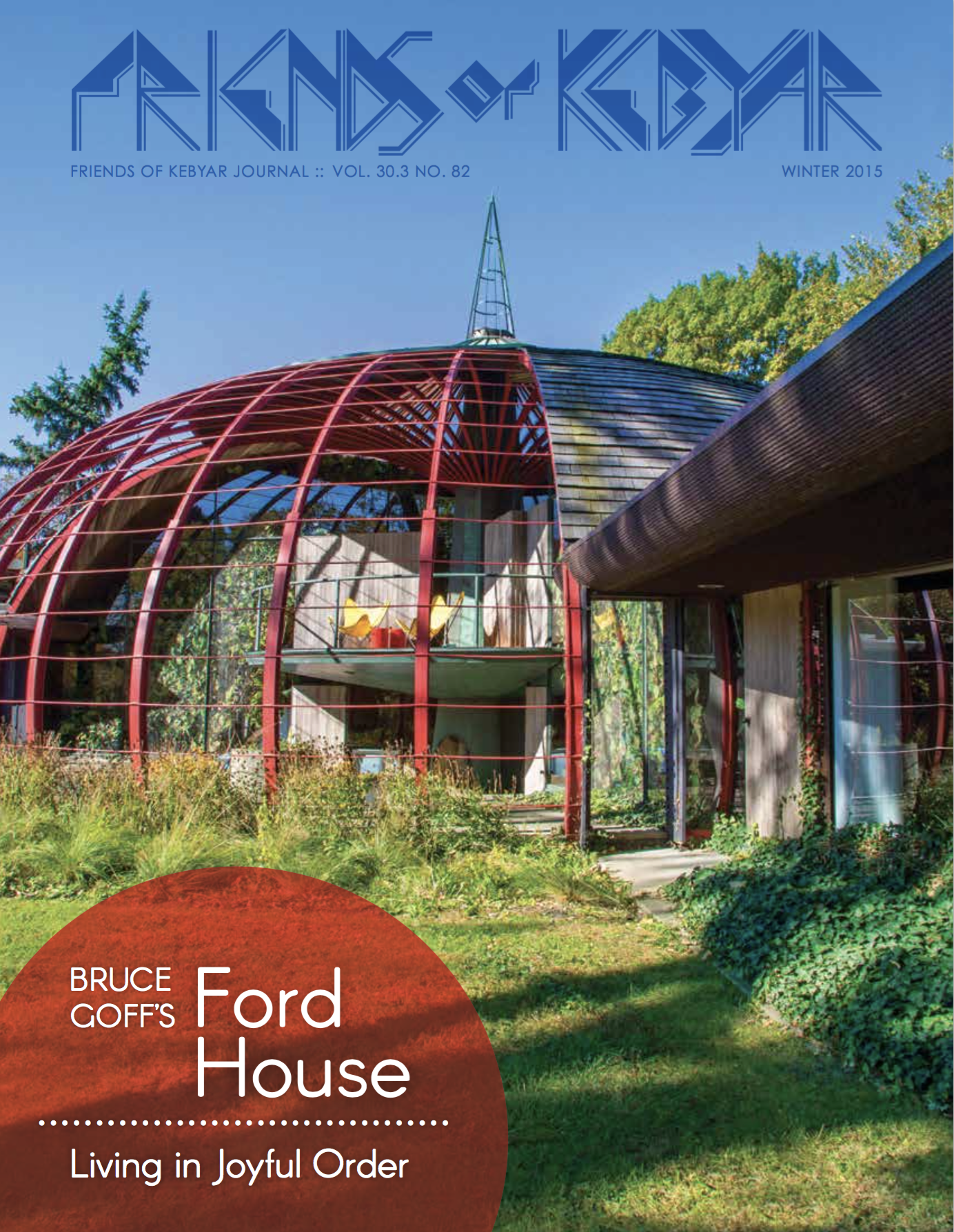 Friends of Kebyar - Bruce Goff's Ford House - Cover.png