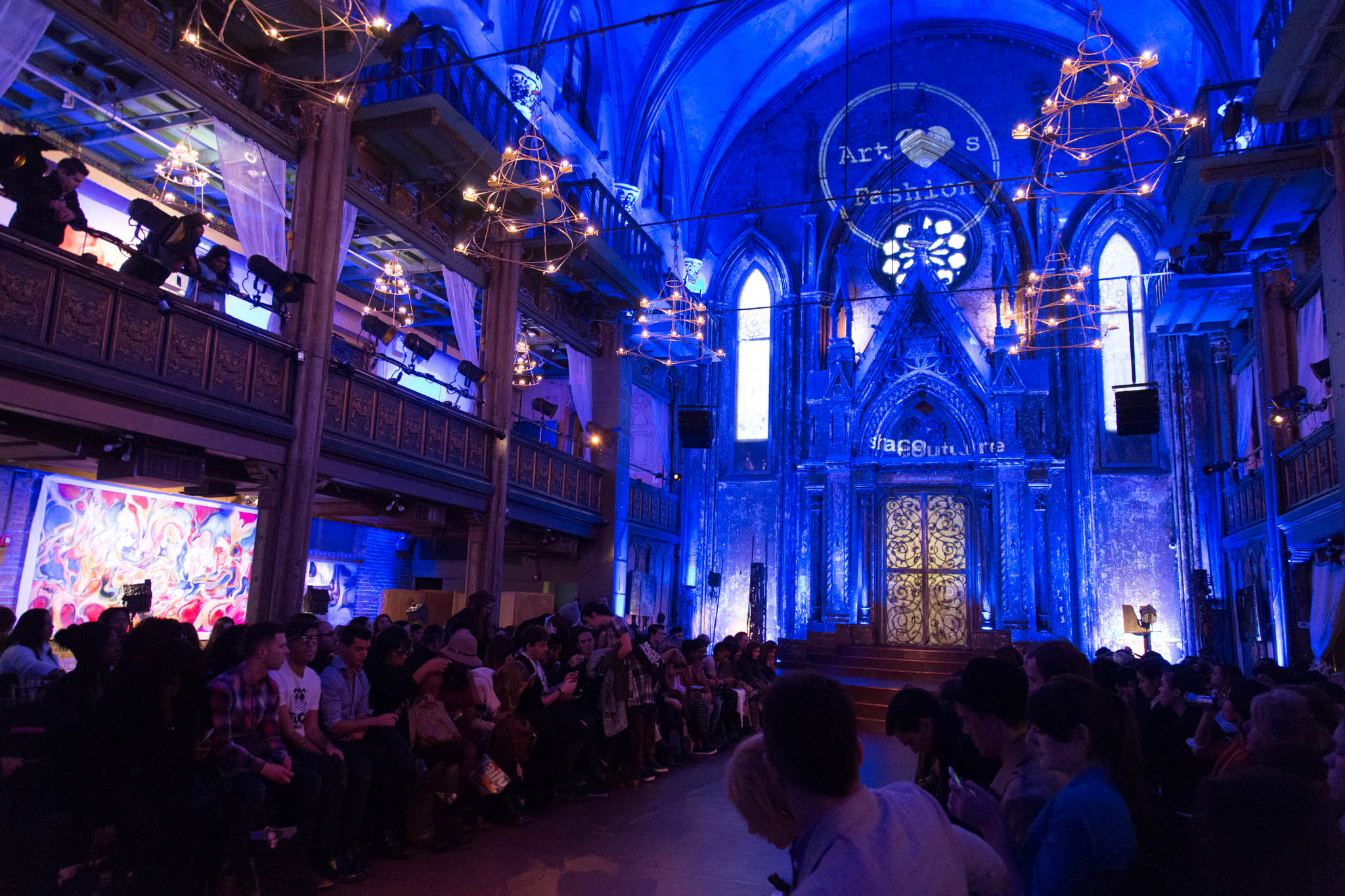 The Angel Orensanz Foundation Event Space located on the lower east side.