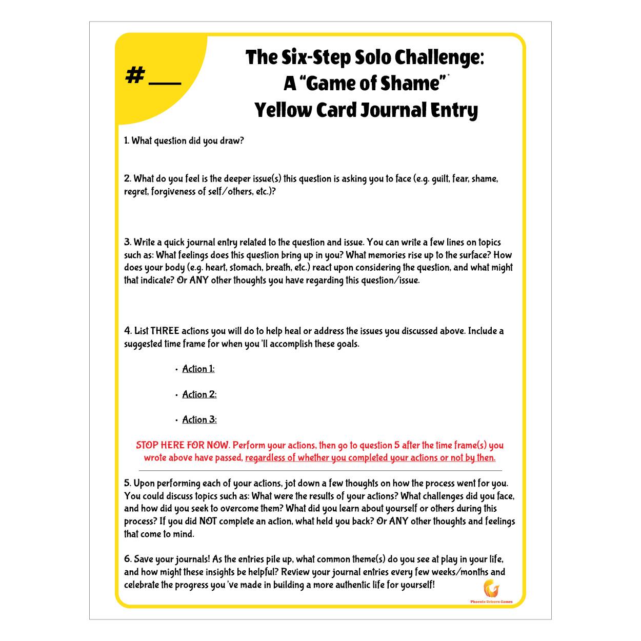 Worksheet Design - Solo Challenge
