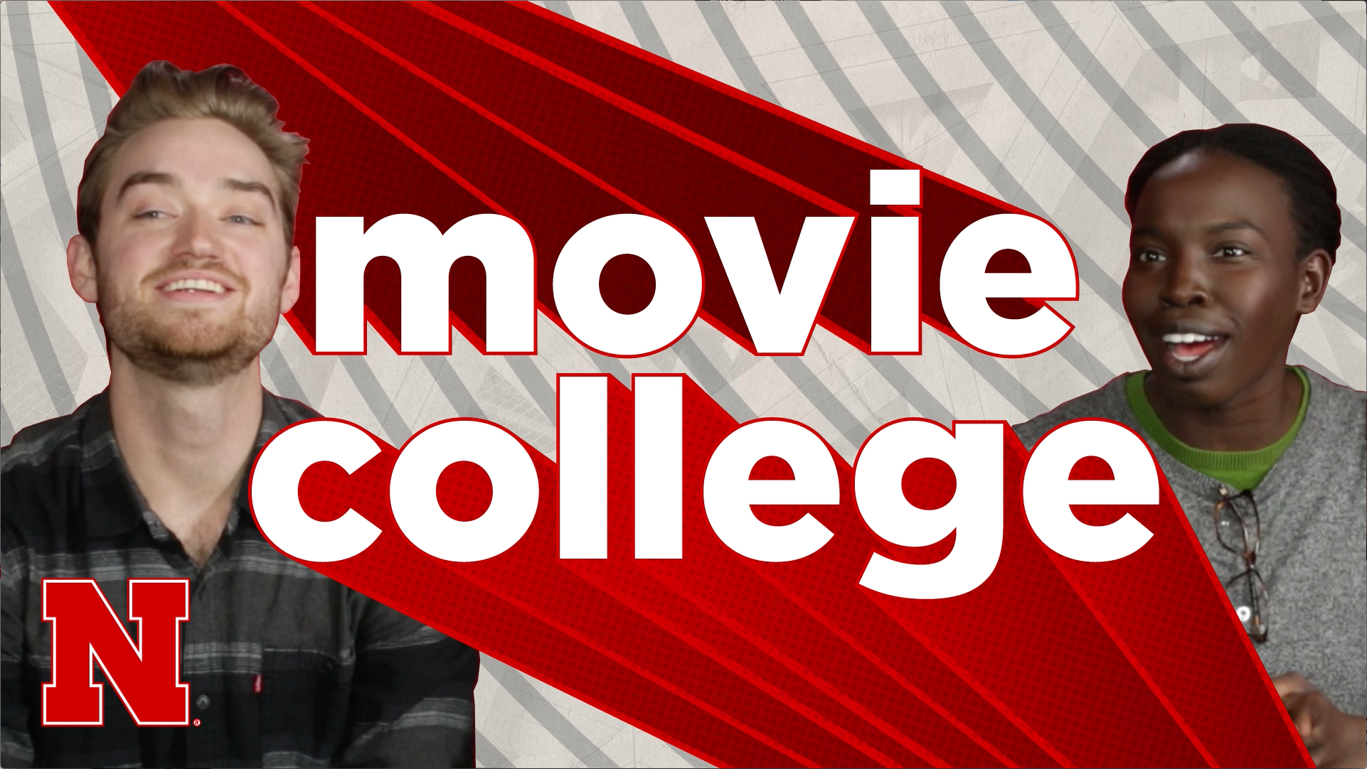 Movie College - Nebraska students react to movie scenes about college.