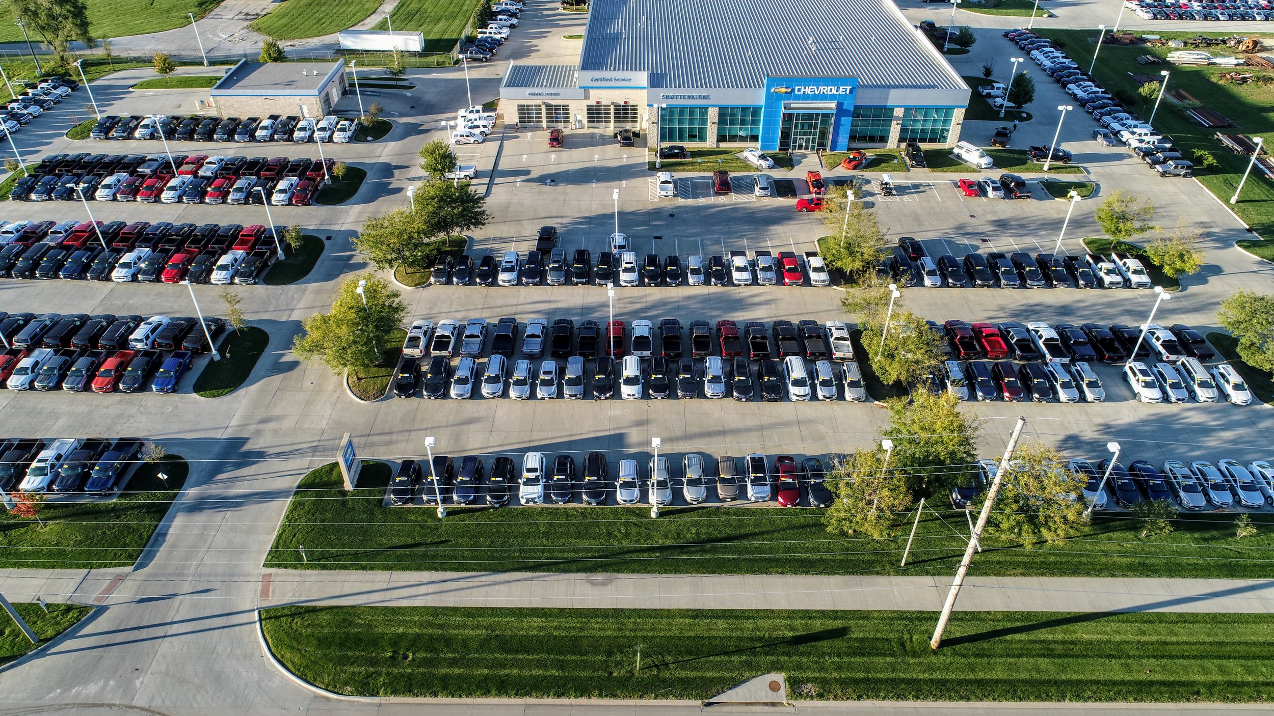 Shottenkirk Chevy In Waukee Iowa Dronography Iowa