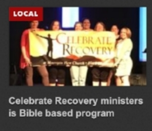 Celebrate Recovery in the Newspaper