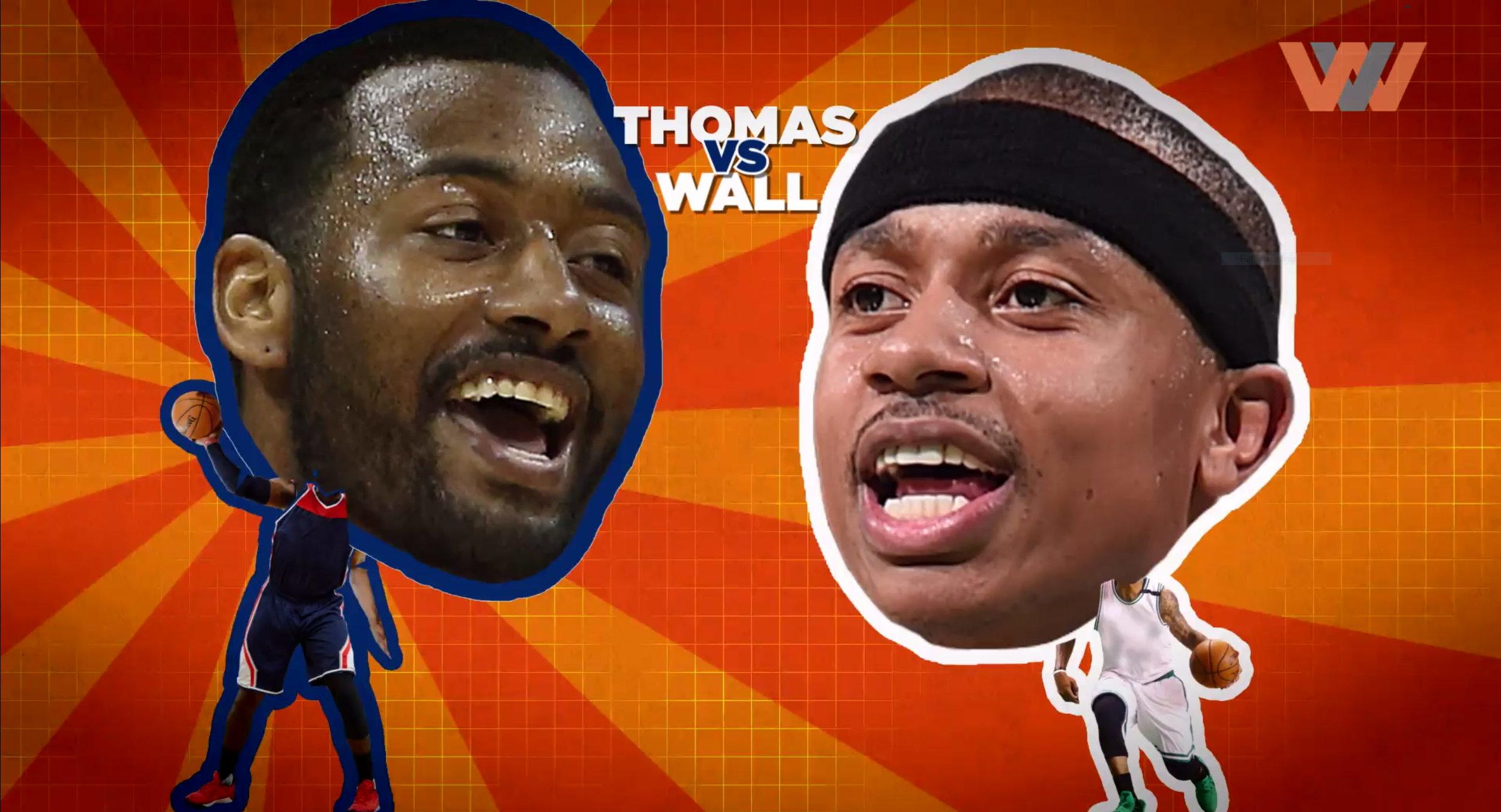 John Wall VS. Isaiah Thomas: Who's Better