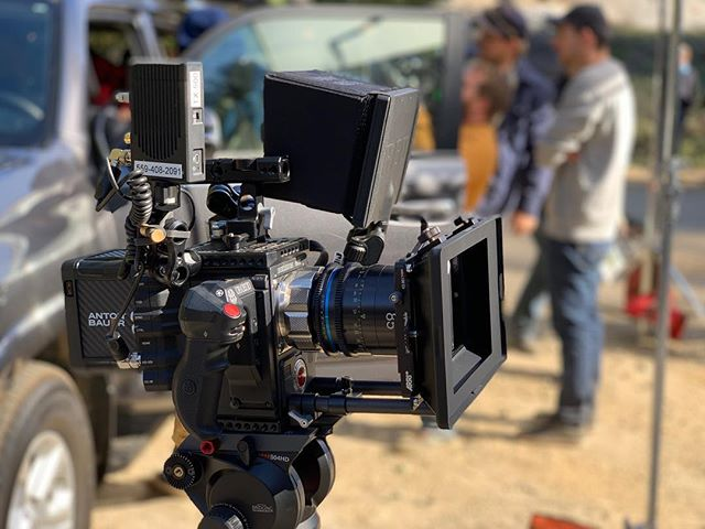Looking pretty on set 🎥 . . . #epicw #r3d #reduser #cameraoperator #shortfilm #plmount #arri #teradek #woodencamera #celre