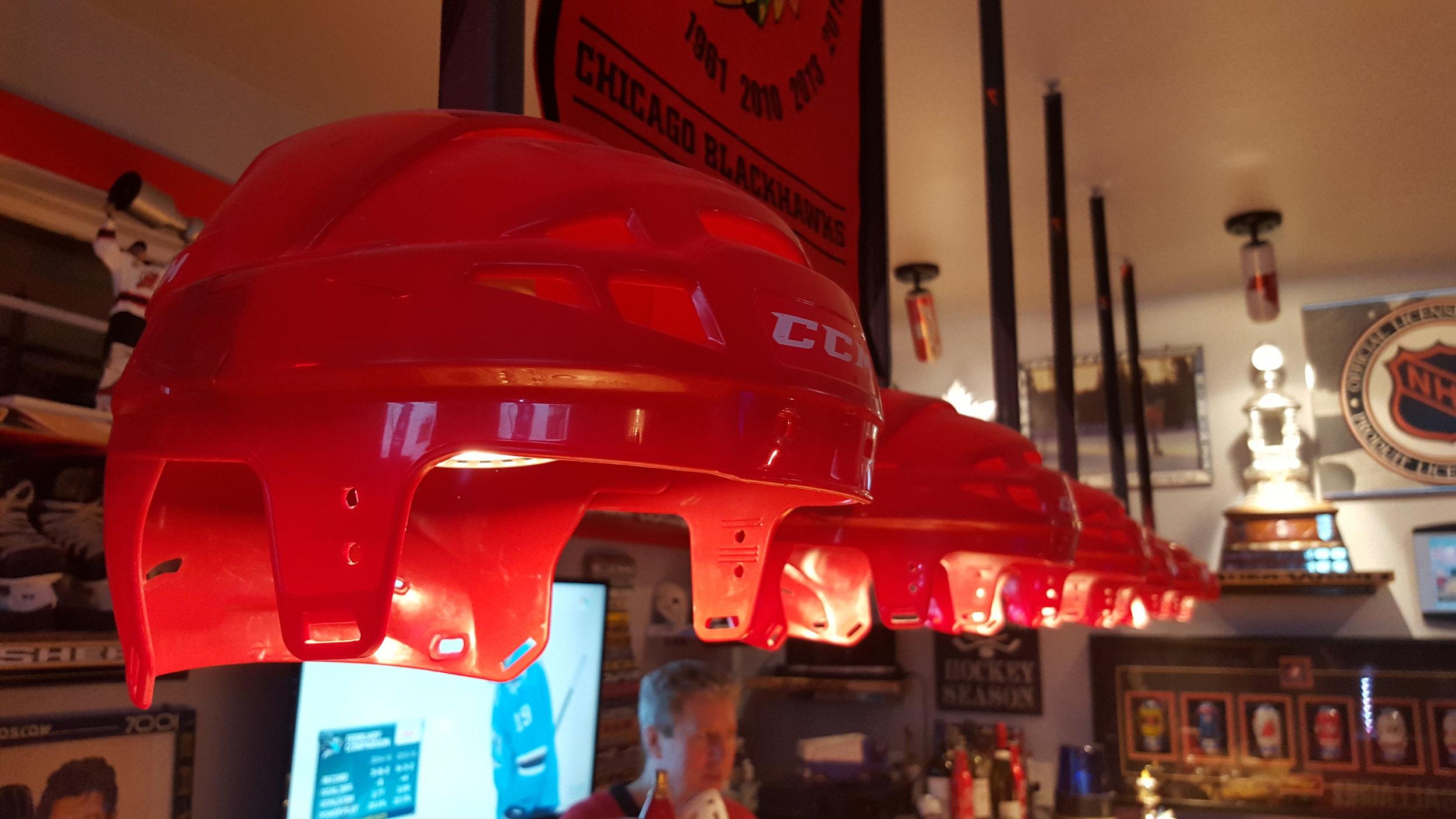 Hockey Helmet Lights