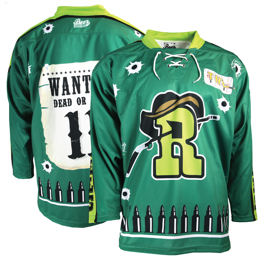 Fully printed Rebels jersey