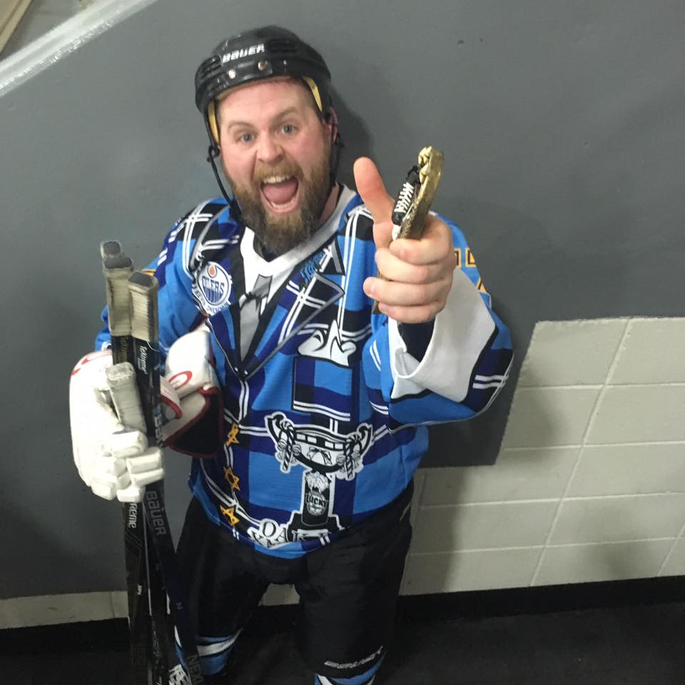 Sean Tackaberry, one of the organizers of the Oak Bay Xmas Cup