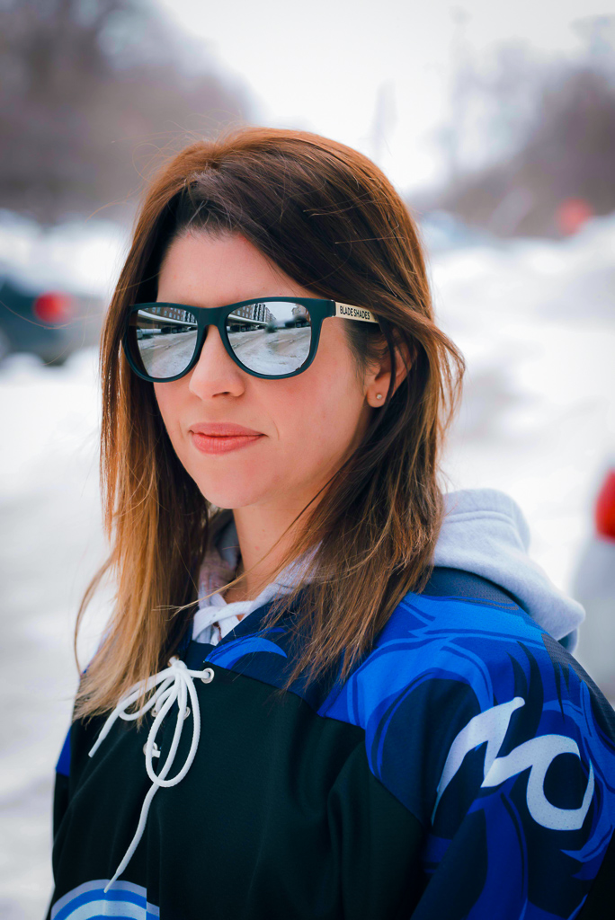 BLADE SHADES - The perfect gift for the hockey mom out there