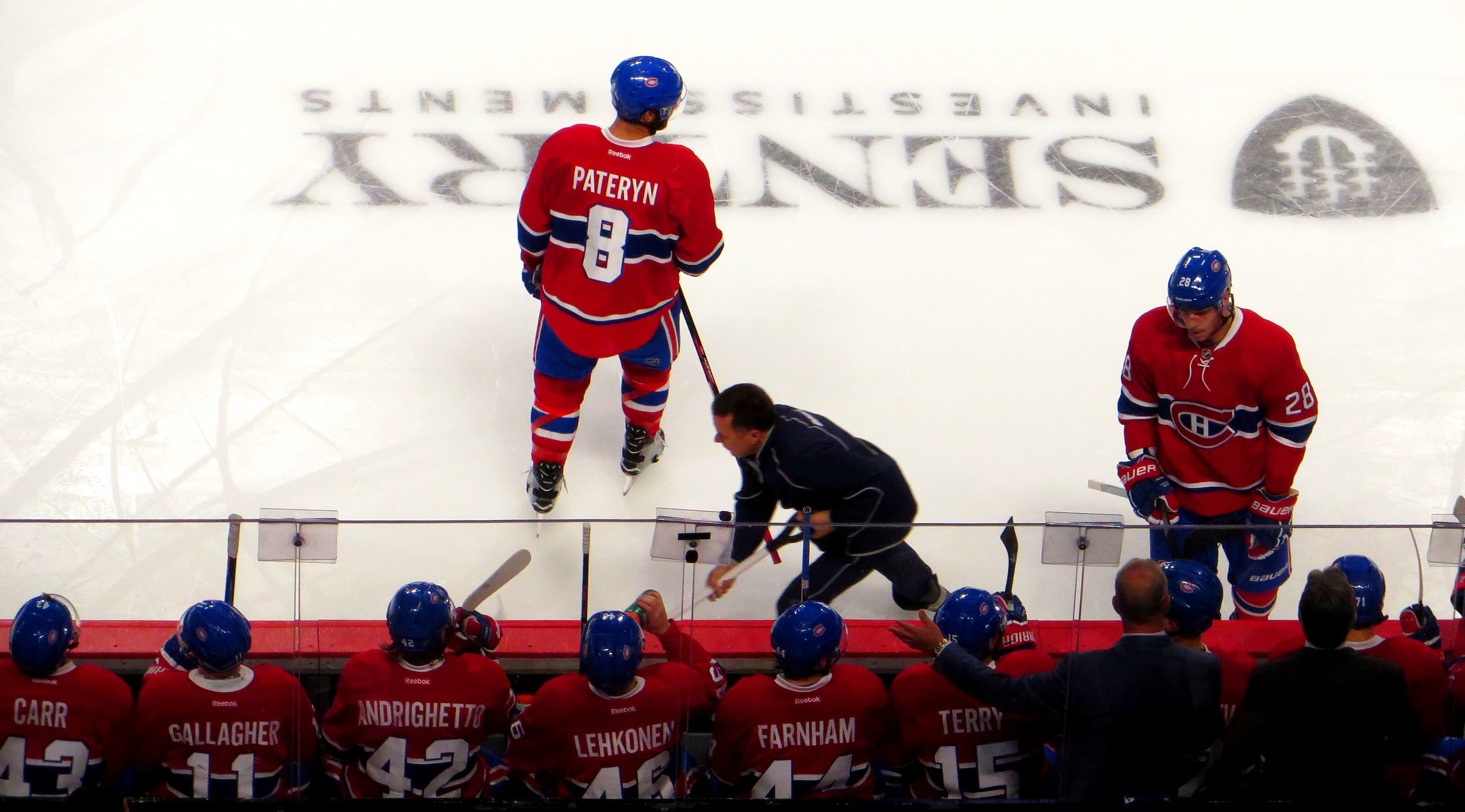Photo  by Ken Lund /  CC BY-SA 2.0    The Montreal Canadiens – the most successful team in hockey .