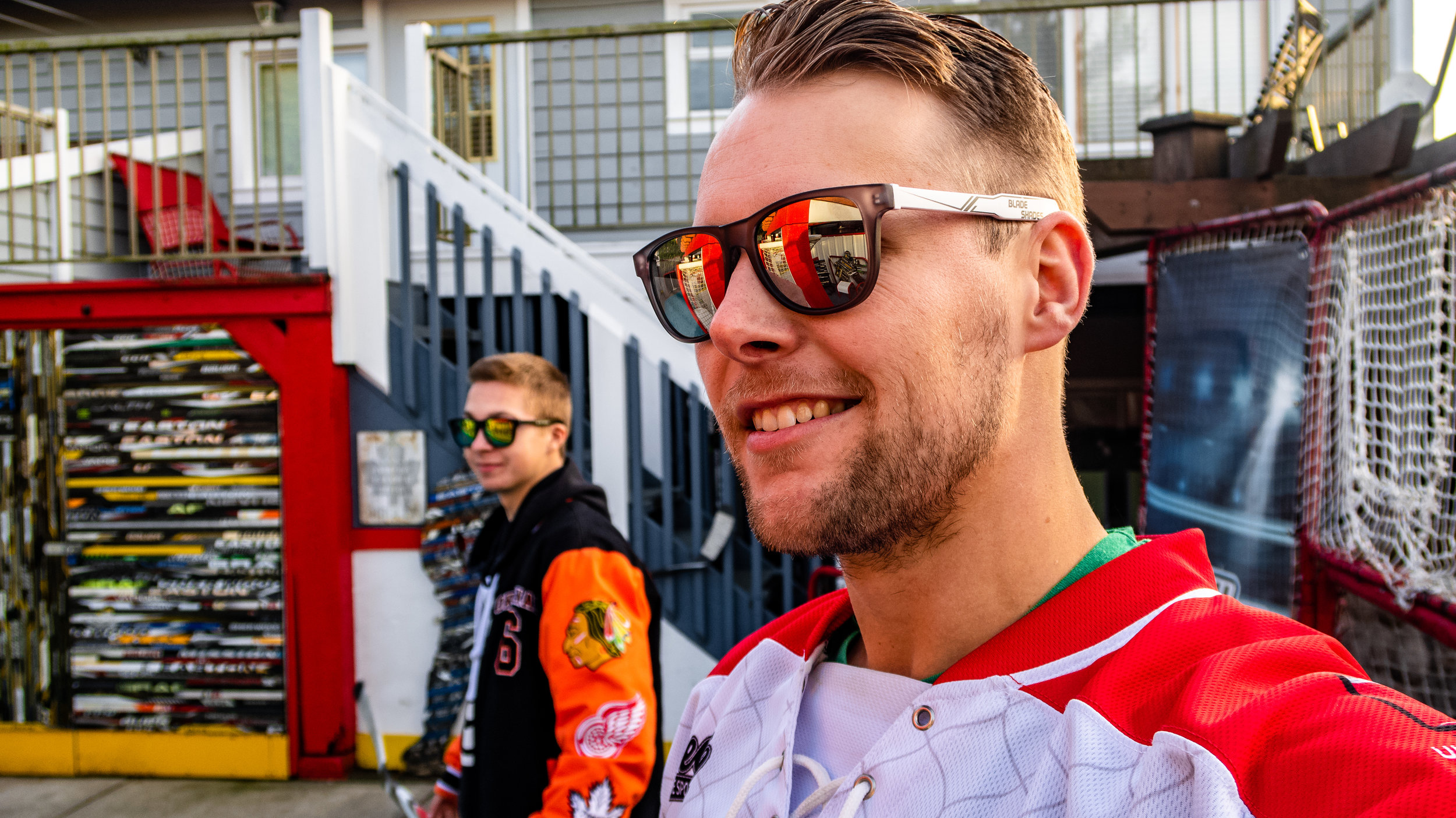 BLADE SHADES - Hockey Sunglasses