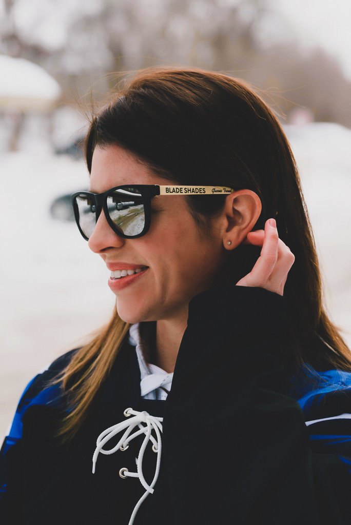 Hockey stick sunglasses for the hockey world. ⭐️⭐️⭐️⭐️⭐️  Put the game on at www.BladeShades.com