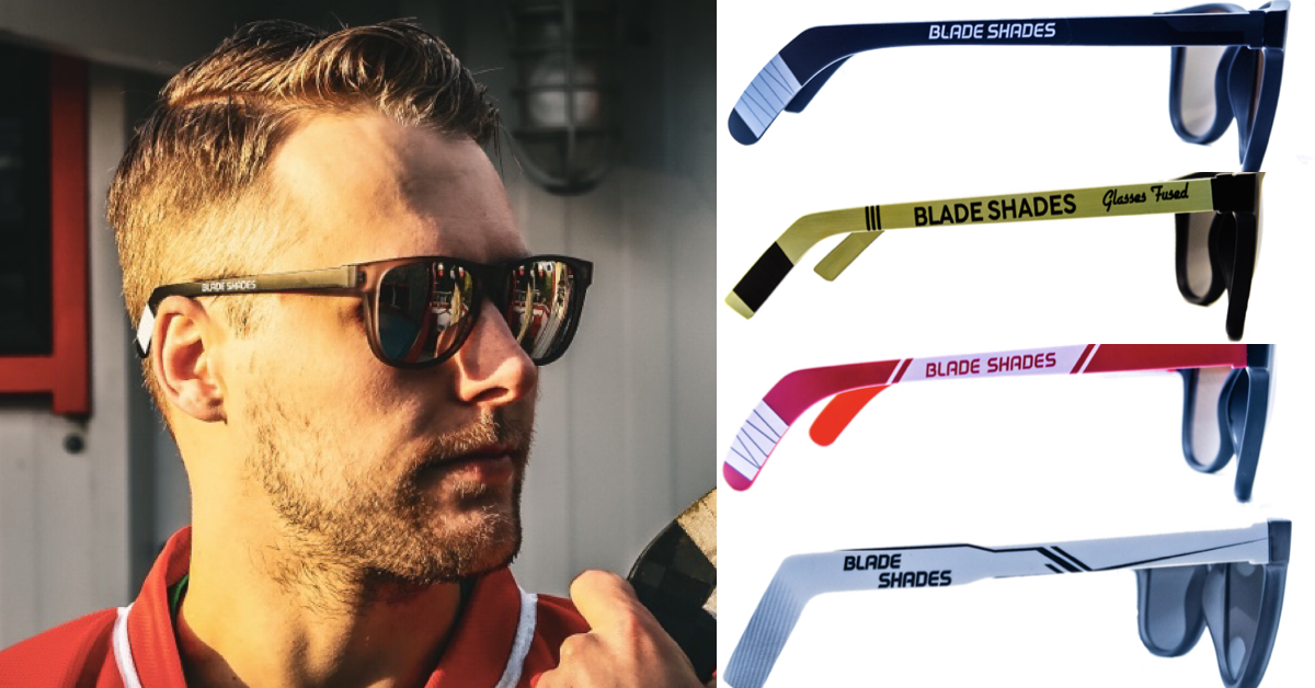 Blade Shades | Hockey Stick Sunglasses for the Hockey World. Click here to put the game on.