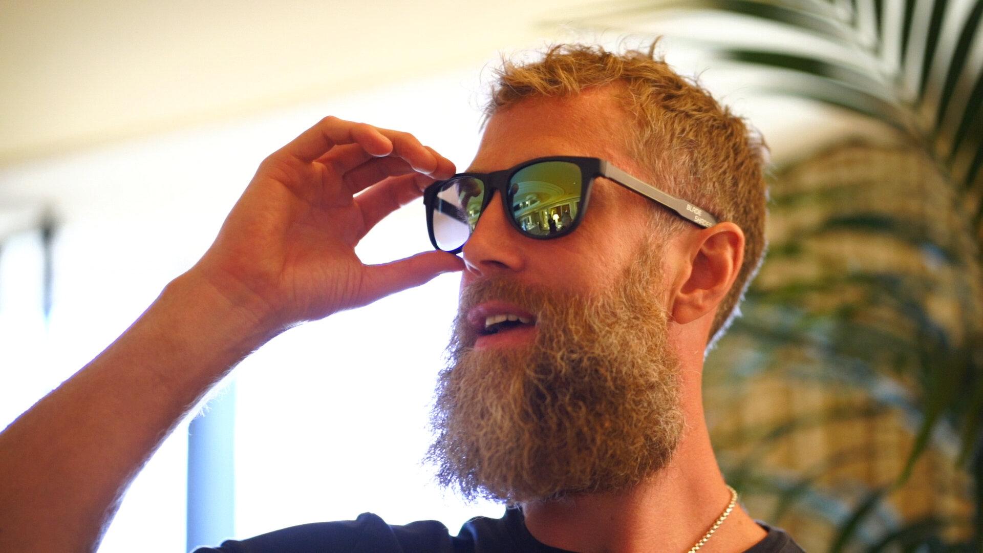 Blade Shades - Hockey stick sunglasses for the hockey world.