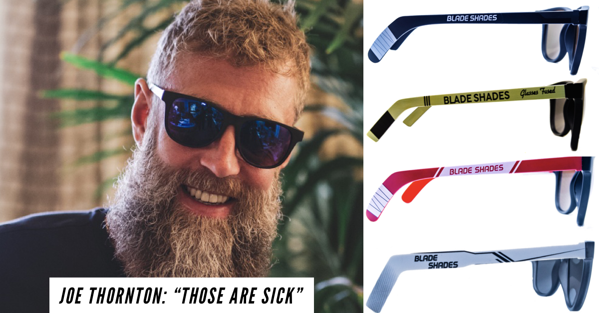 BLADE SHADES - Hockey stick sunglasses for the hockey world.