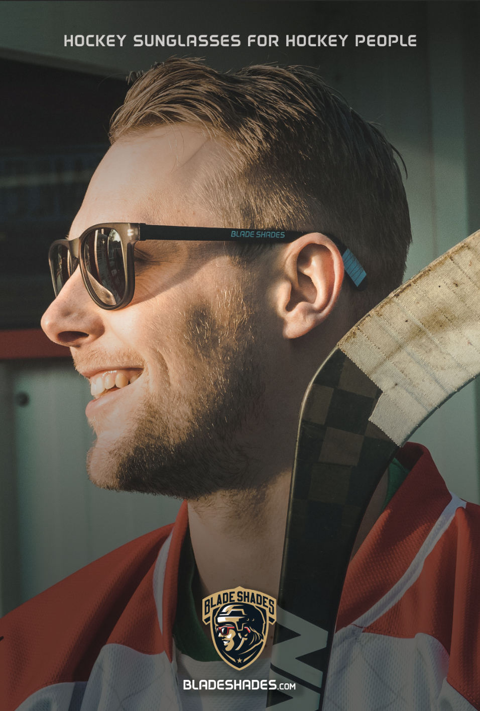 Hockey Season for Your Face. Blade Shades