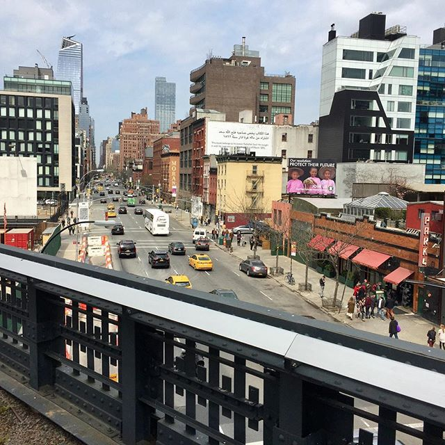 View from the High Line. #nyc