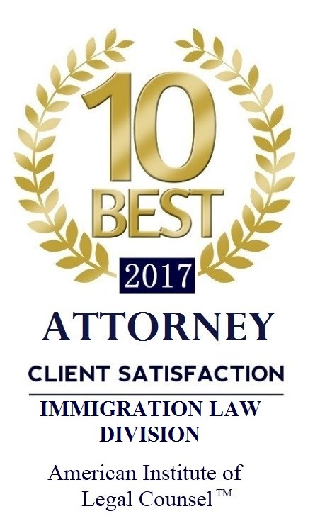 Immigration Lawyer David Vyborny Named 10 Best Attorneys in South Carolina