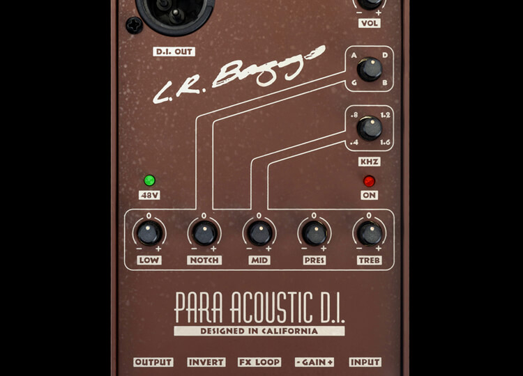 LR Baggs Para DI Acoustic Guitar Preamp
