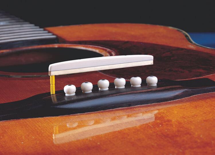 LB6 Acoustic Guitar Unitary Saddle Pickup