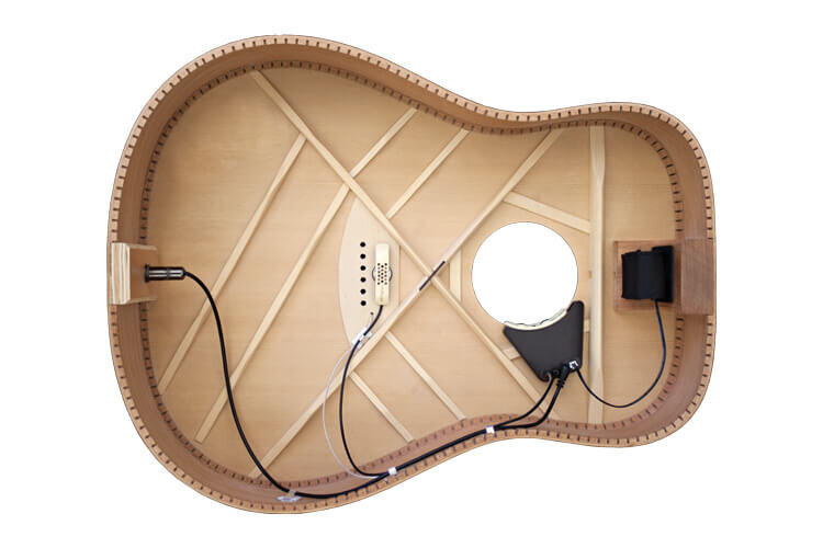 Anthem Acoustic Guitar Pickup and Microphone