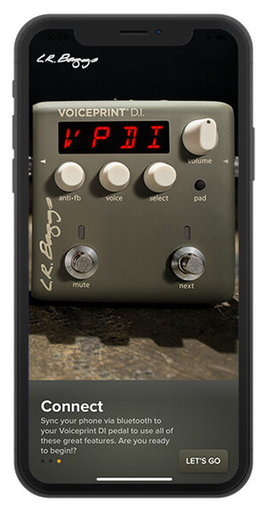 LR Baggs Voiceprint DI Acoustic Guitar Impulse Response Pedal - Connect