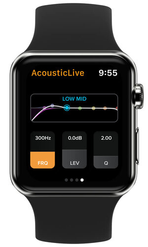 AcousticLive Apple Watch Integration