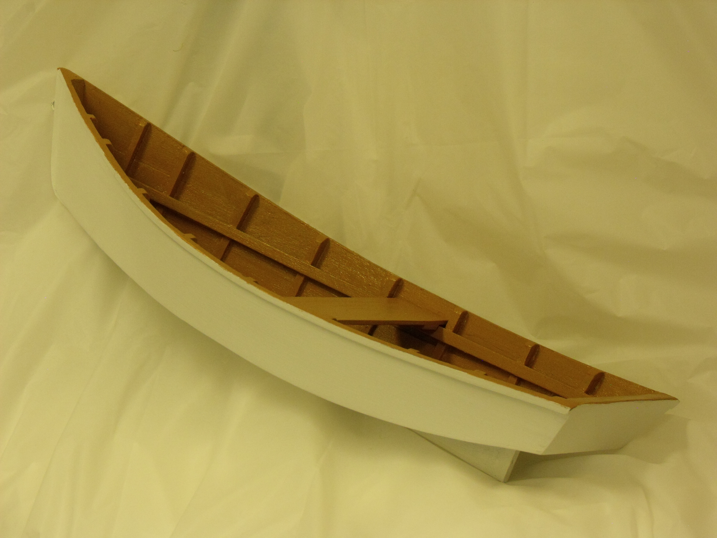 Long Skiff by Andy Mann  $180