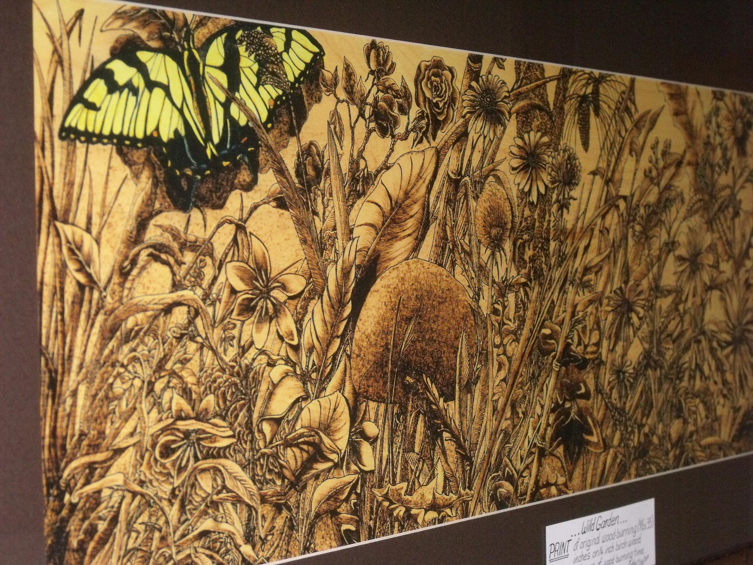 Wild Garden by Cathy Clayton  $425