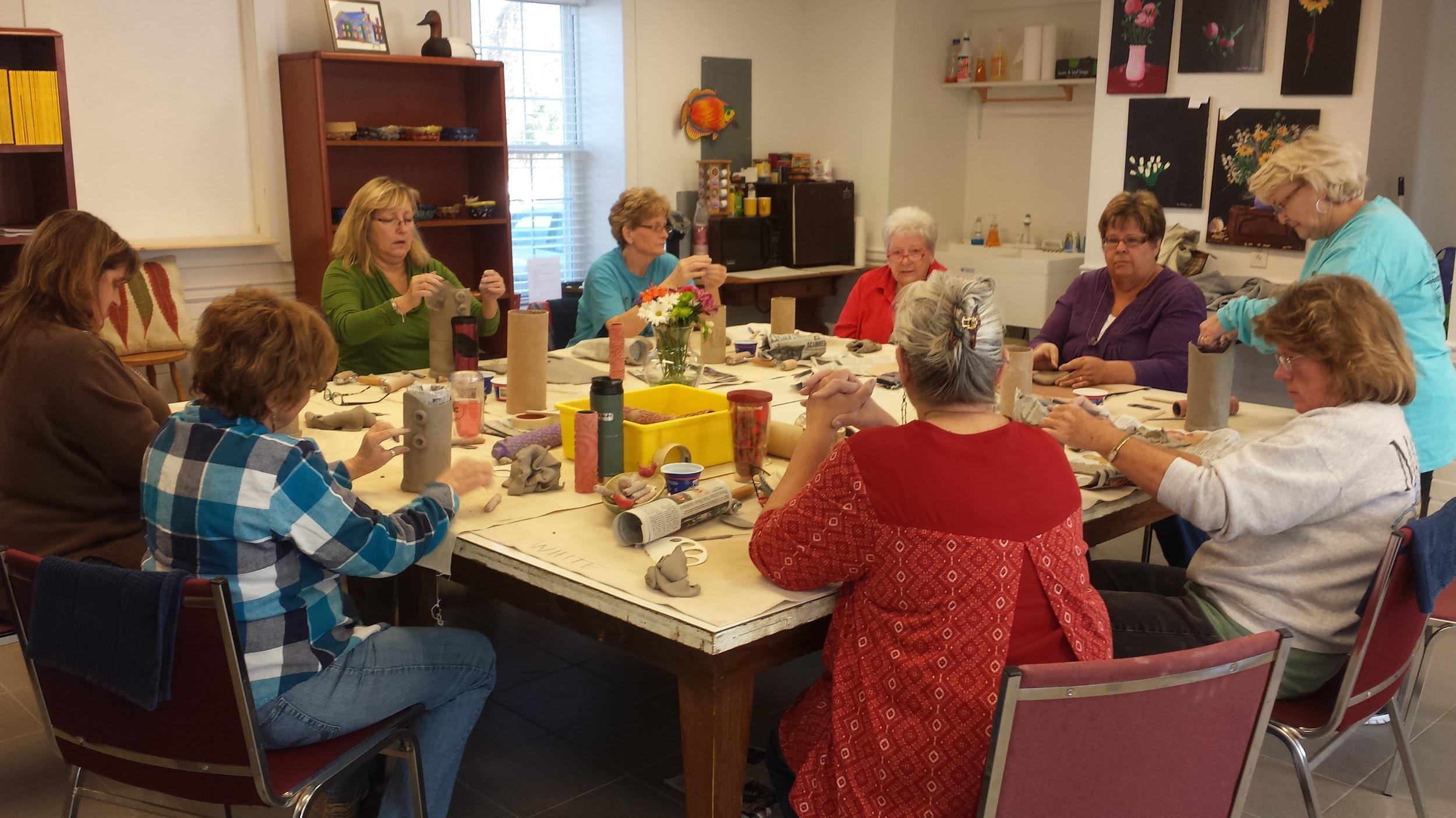 Clay Class with Carolyn Sleeper