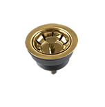 GOLD MINI BASKET WASTE STRAINER