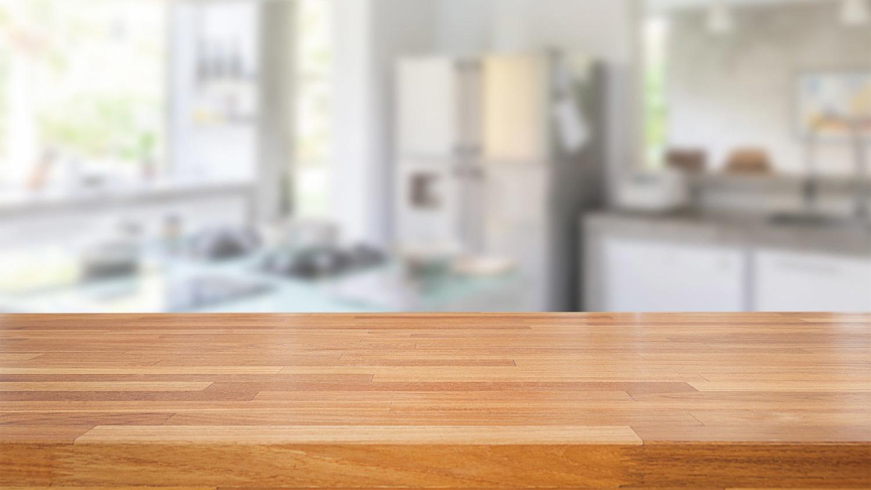 Wood Kitchen Worktop