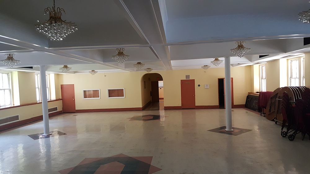 Before image of City Tabernacle church main exit