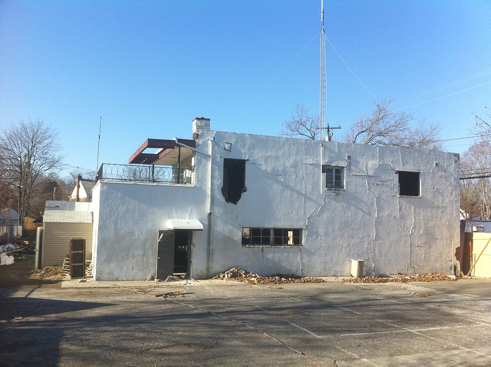 Exterior of Jerusalem Avenue Church of God of Christ under construction