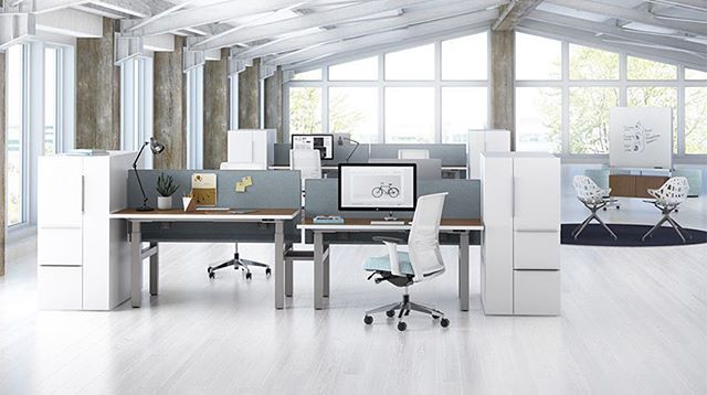 "These versatile adjustable-height tables are all the rage right now.  From our friends at Kimball: ""With height-adjustable desks, people are freed from a static position and enter a new dimension of health-positive performance. Designed for organizations of all shapes and sizes, Xsede Height Adjust tables and benches support wellness initiatives—with dynamic functionality and a range of materials and styles."" Call us or visit us online to place an order! - - - - #commercialinteriorsinc #wellness #officespace #workspace #design #moderndesign #gulfcoastdesign #womanownedsmallbusiness #kimballoffice #furniture #officefurniture #GSAcontract #newlooks #wellnessintheworkplace #sittostand  #Xsede"