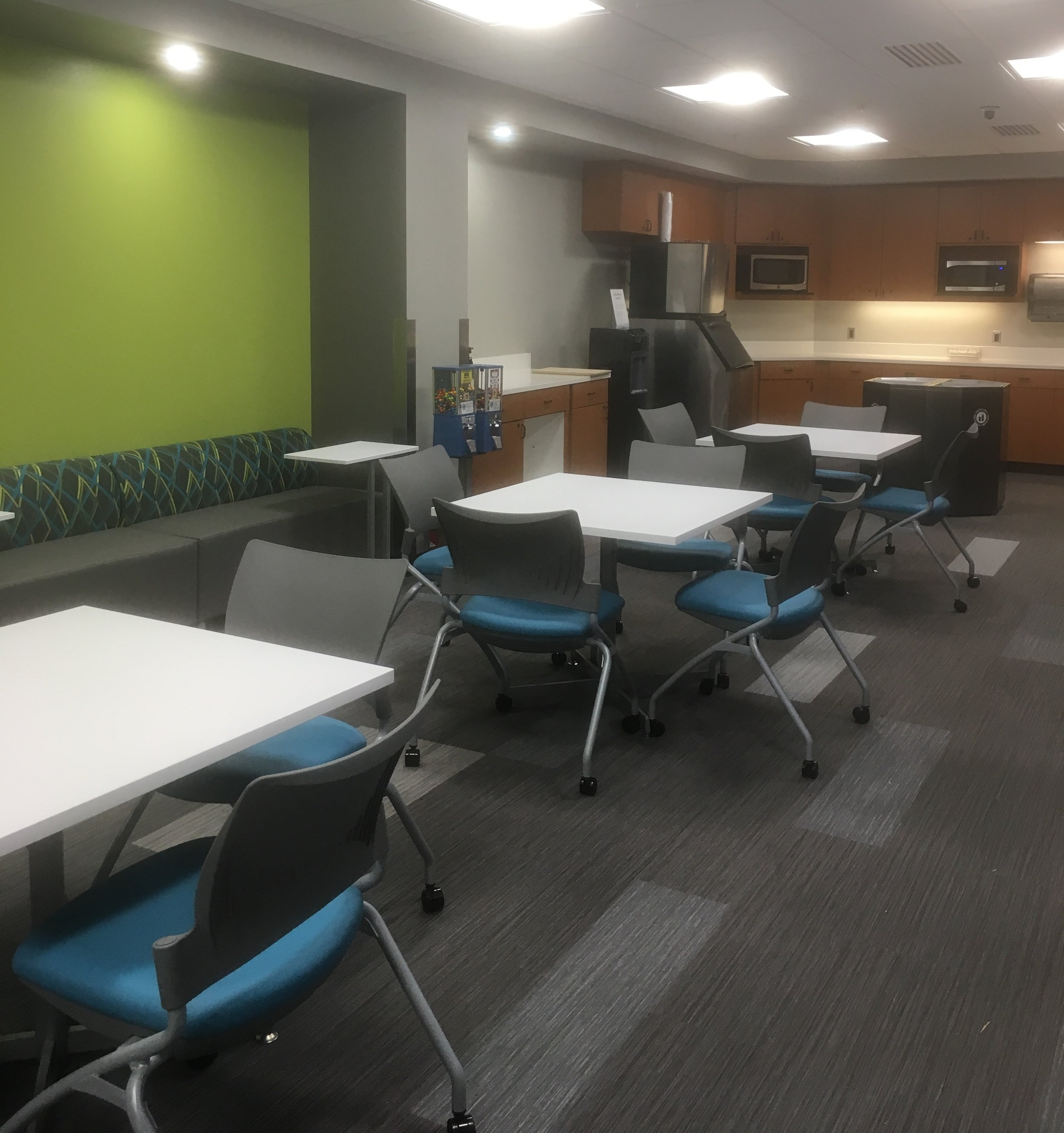 Corporate breakroom, Gulfport, Mississippi