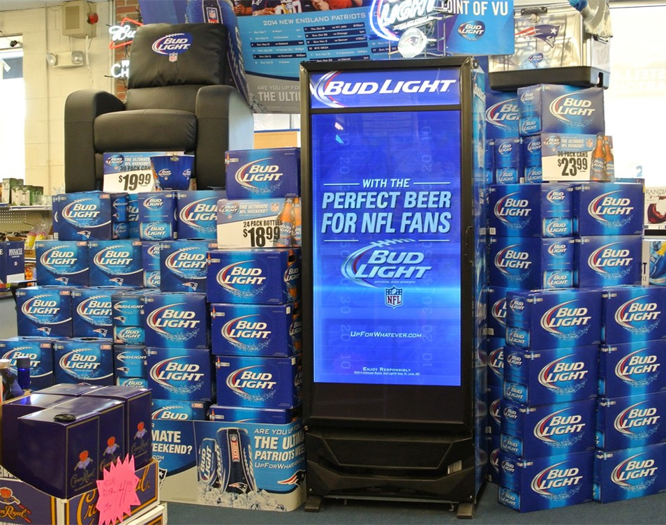 Anheuser-Busch Digital Retail Network at 2,000 C-Stores throughout United States