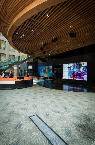 Aerva Digital Signage Software at Banking and Financial Institutions