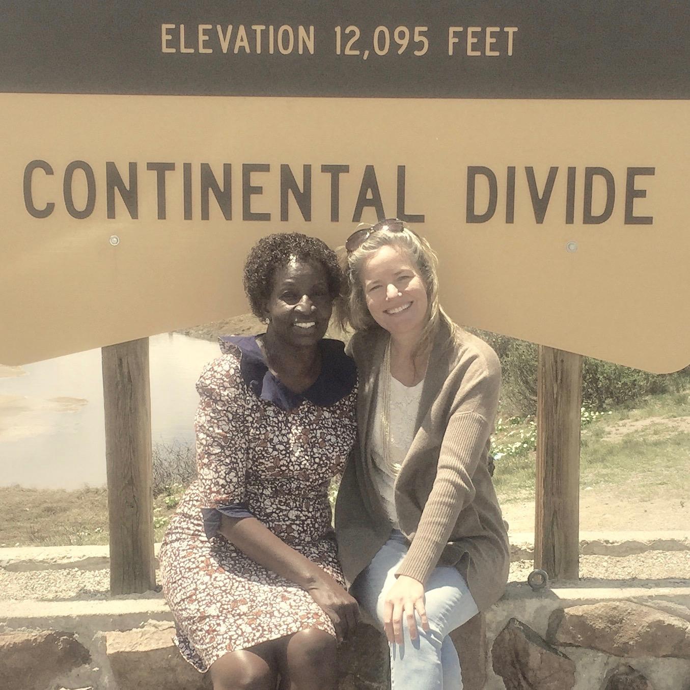 Ruth Ojiambo Oching and Eliza Woloson (WHW Co-founder)