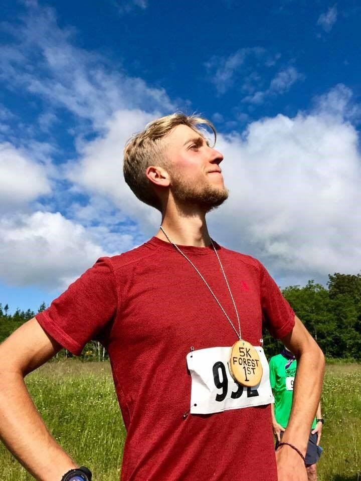 Congrats to David for winning Poulsbo Running's Forest 5k
