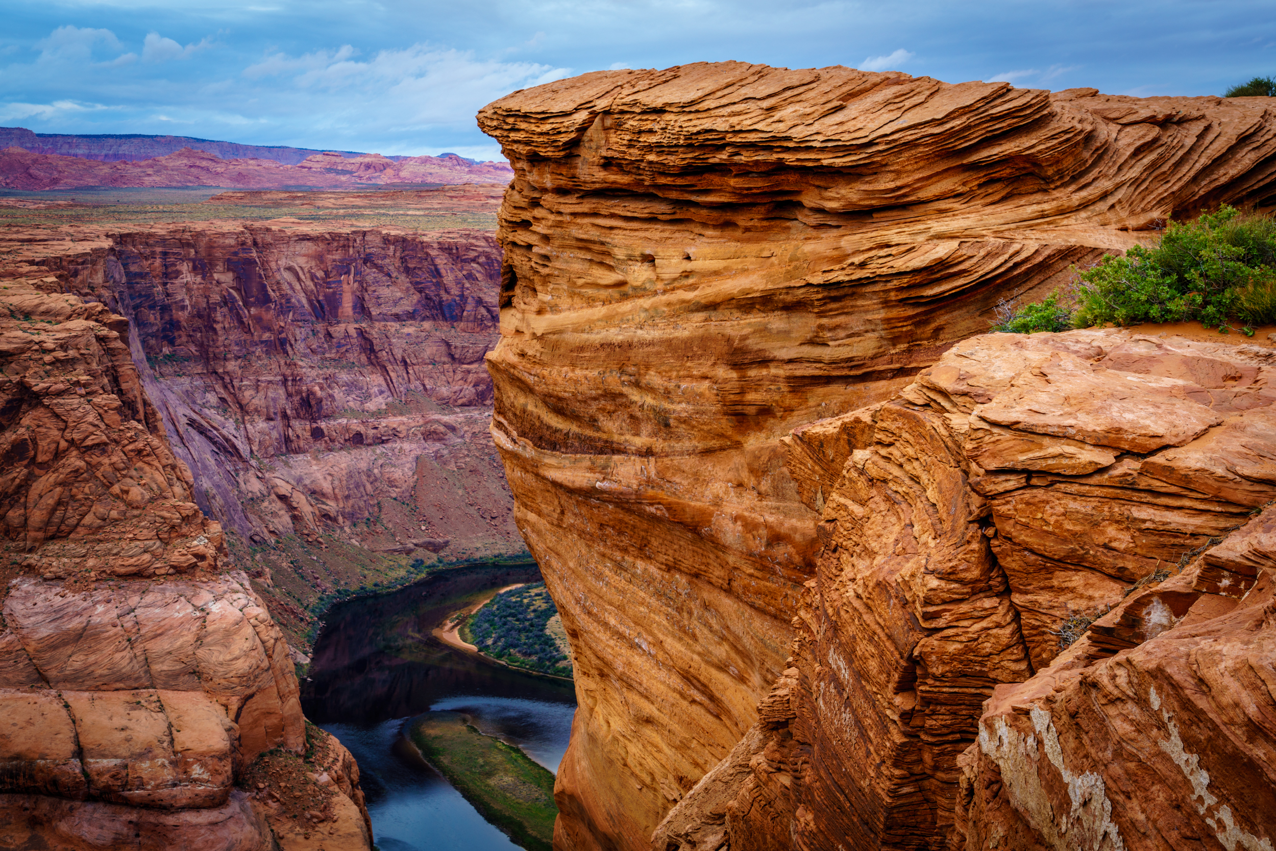 Horseshoe Bend sunrise - another view