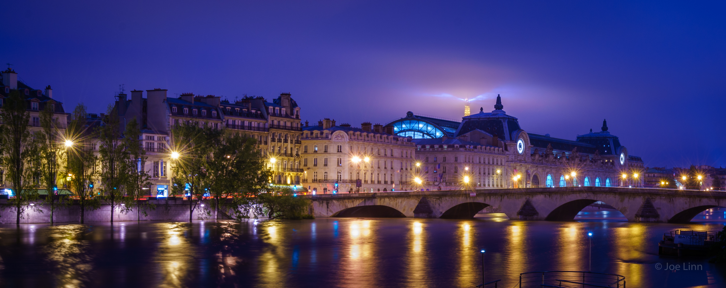 The Flooded Seine River