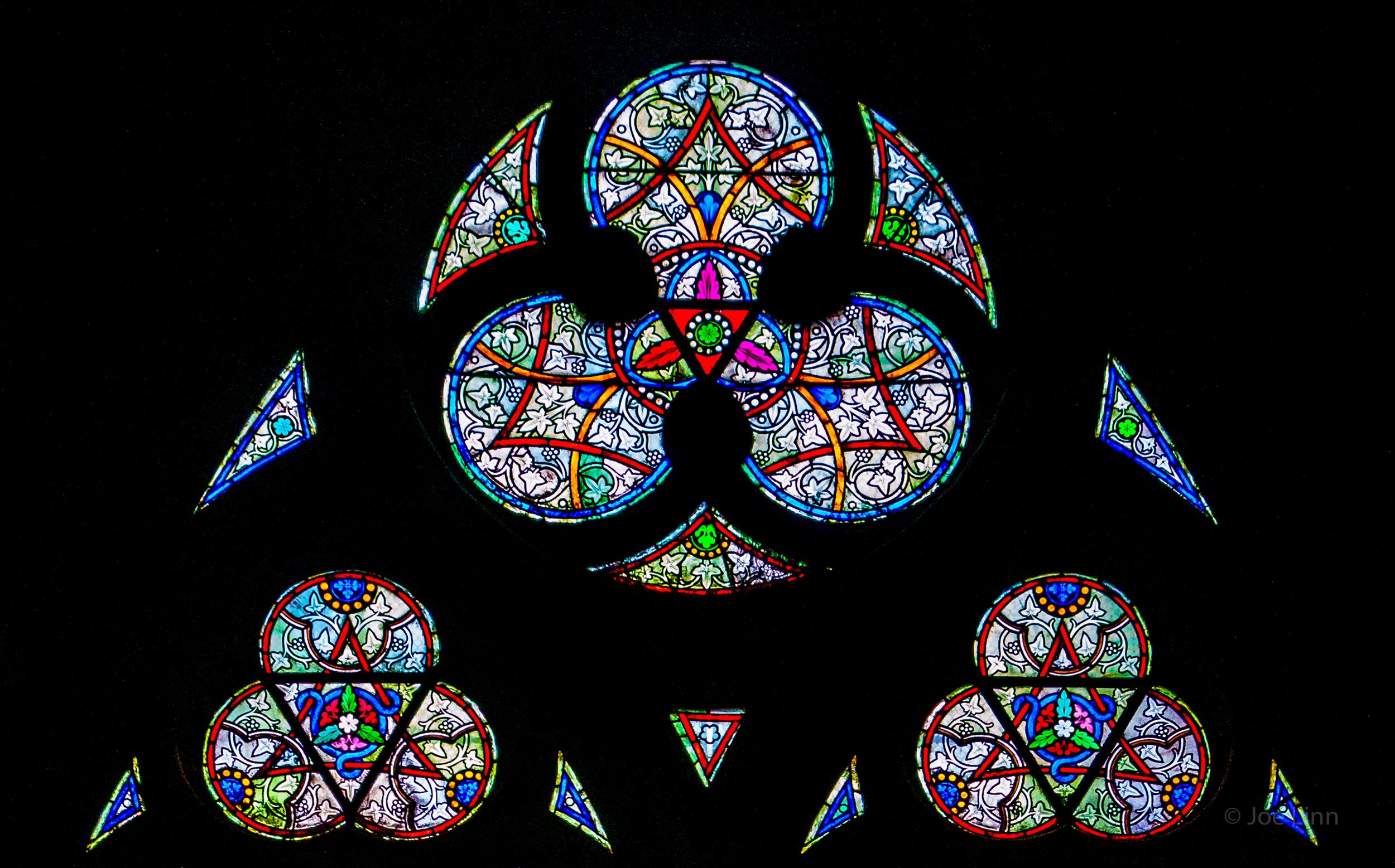 Window detail, Notre Dame