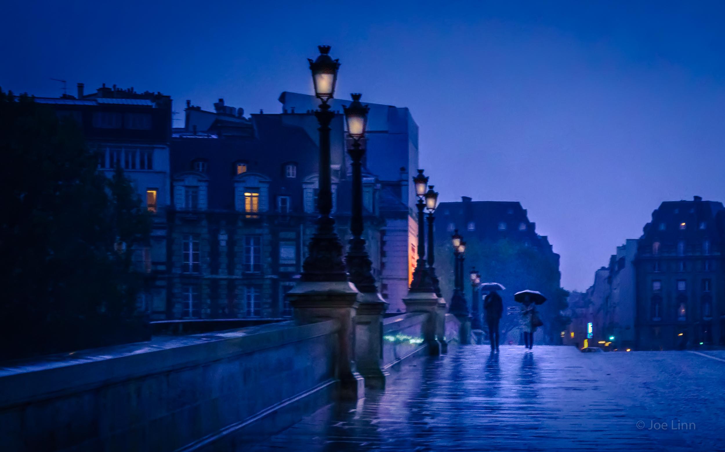 The Umbrellas of Paris