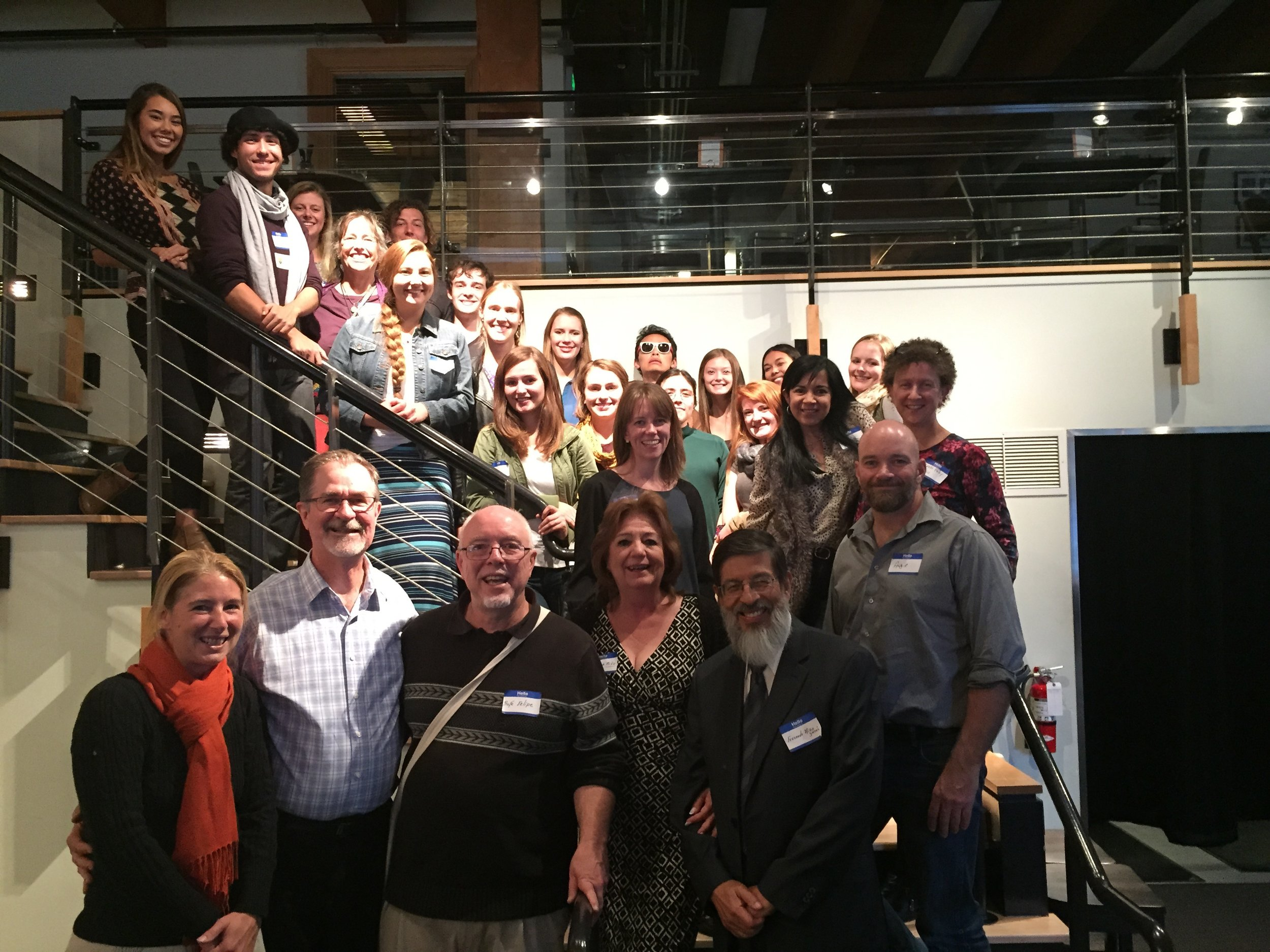 A fun group marks ACLAS's 25th anniversary in Seattle, Washington.