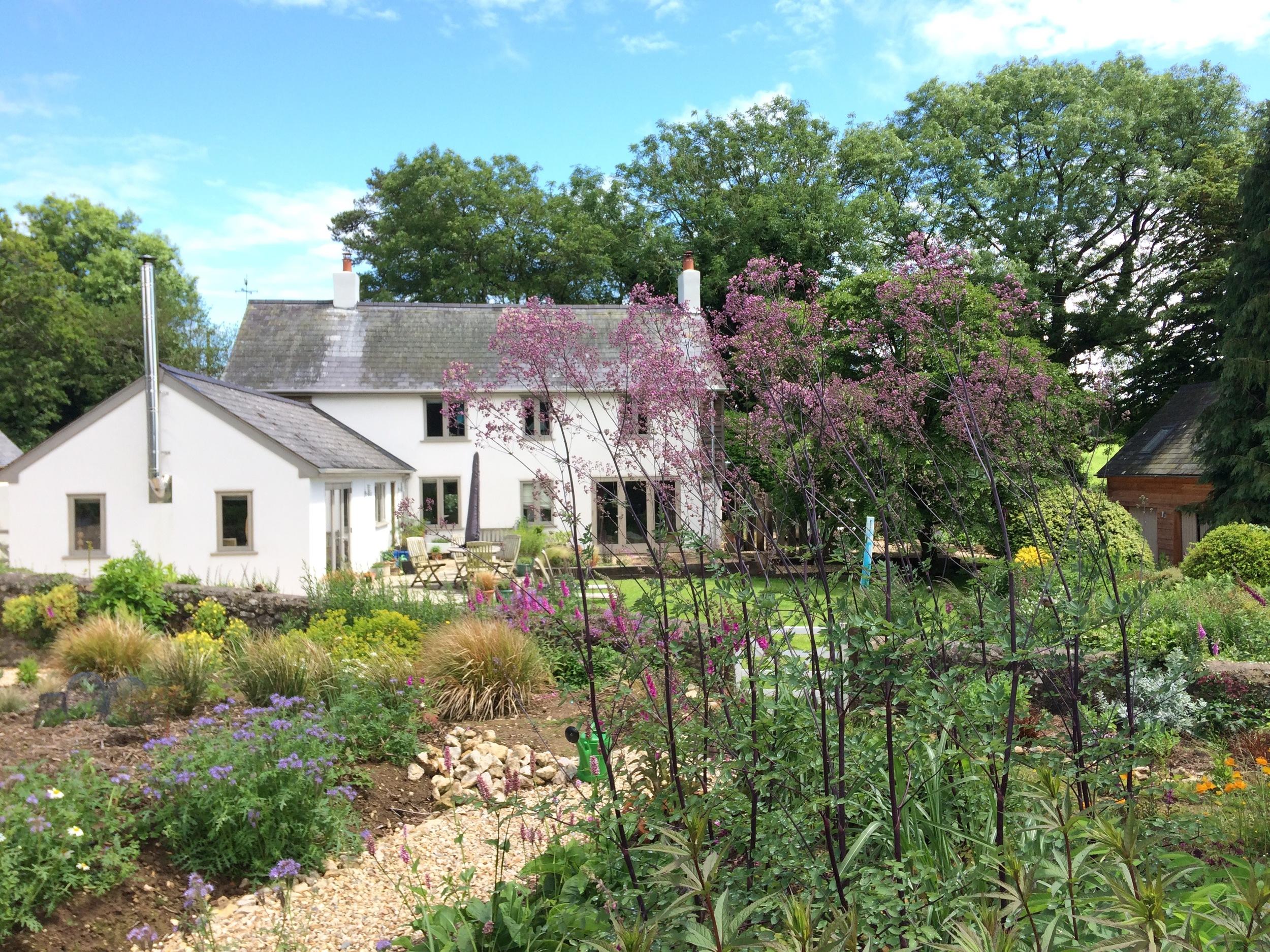 Rocombe garden