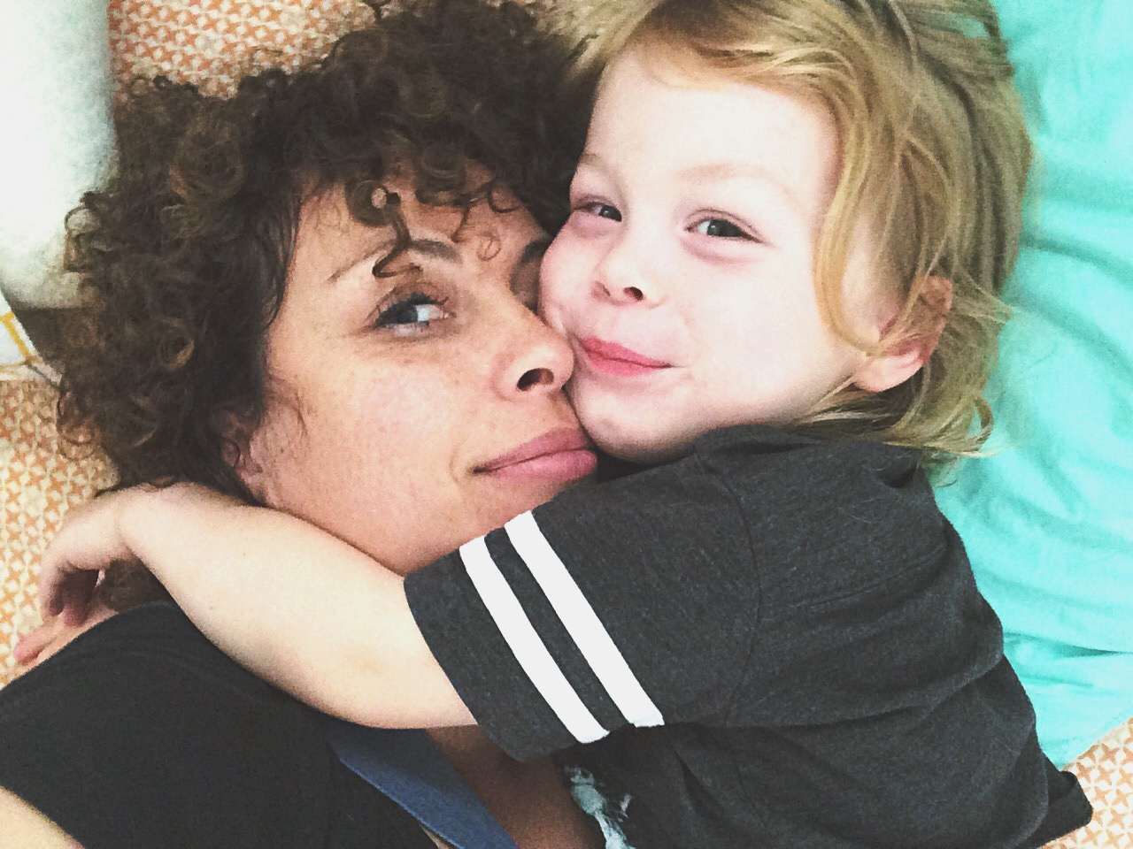One of my Moments of Motherhood, selfie style