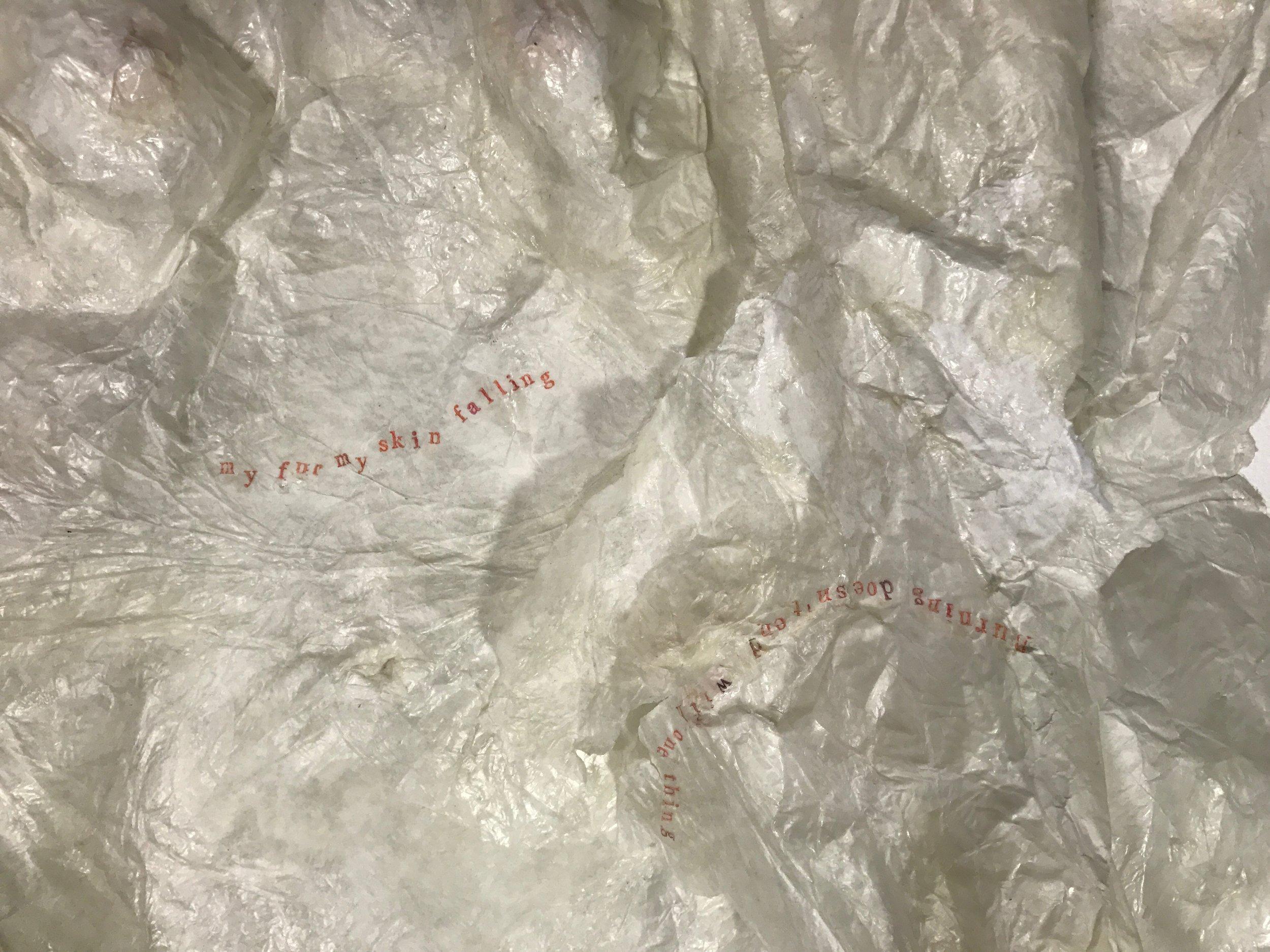 Paper Skin detail