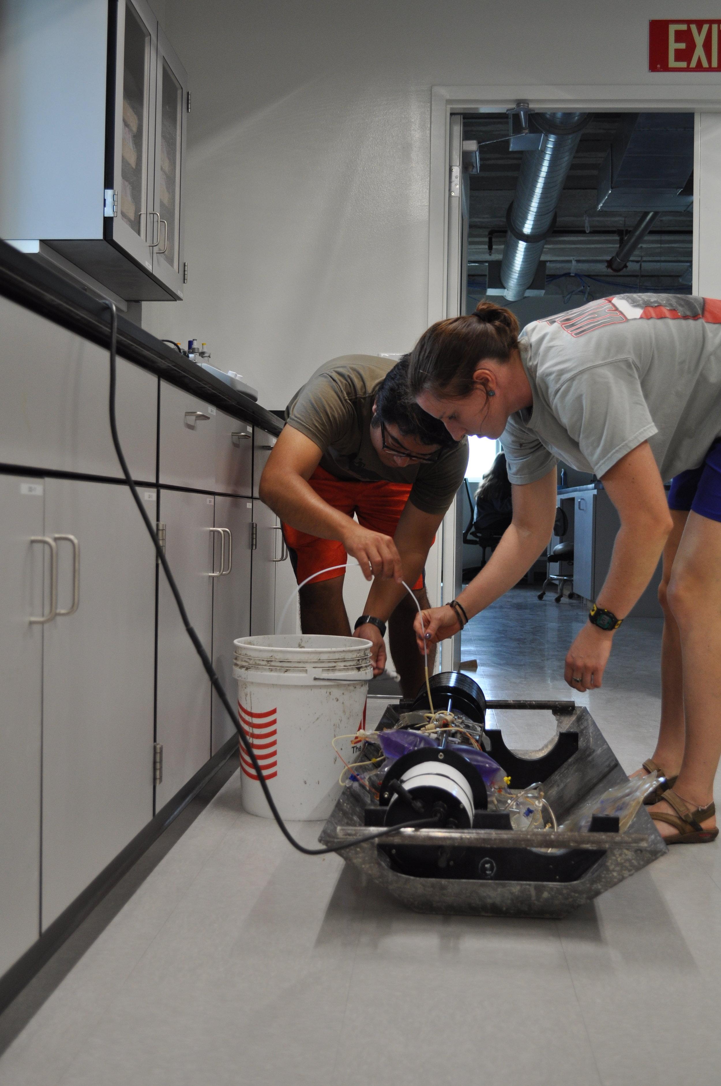 Testing SEAS-DIC Sensor in the lab
