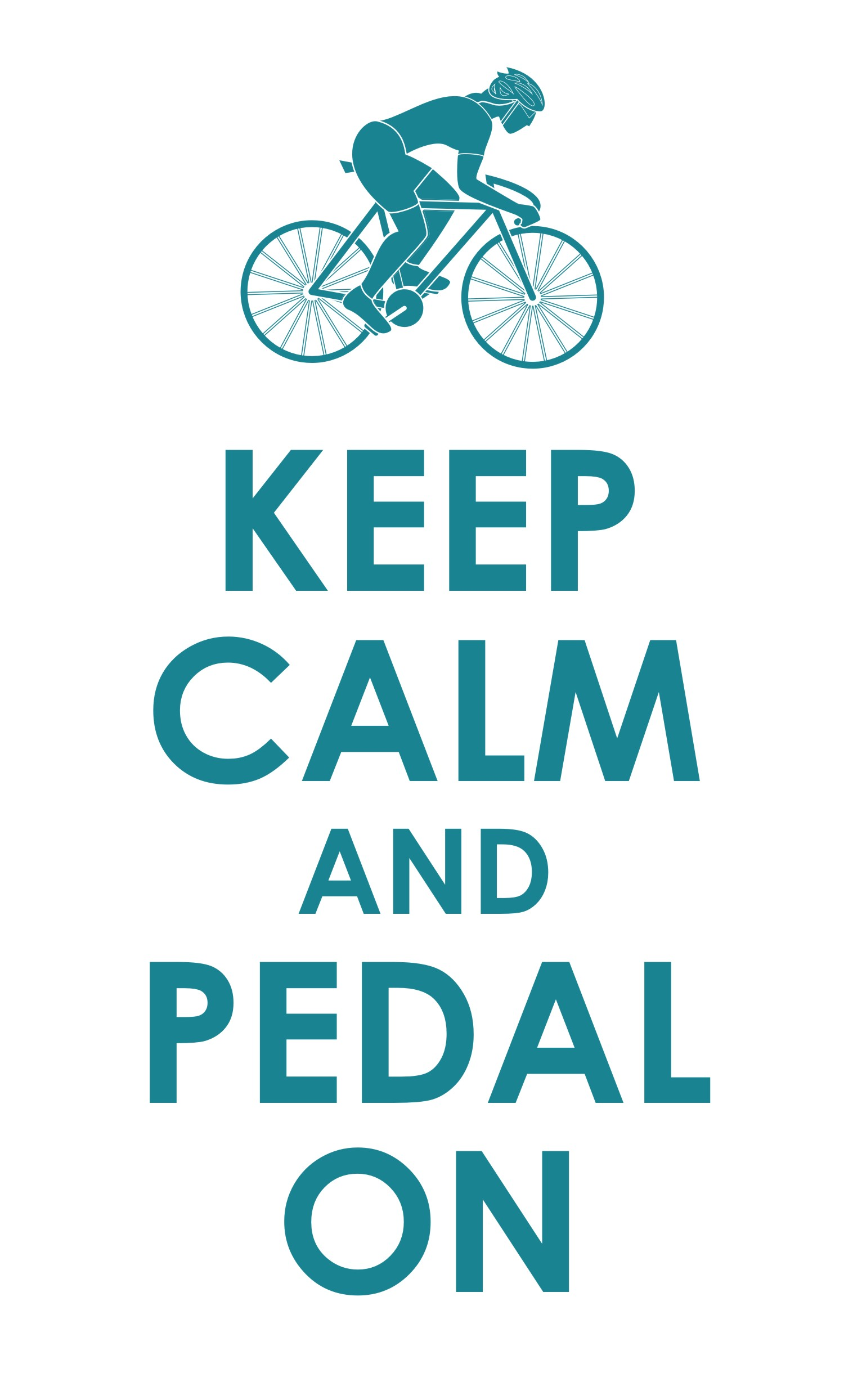 Tour du Cancervive Keep Calm and Pedal On
