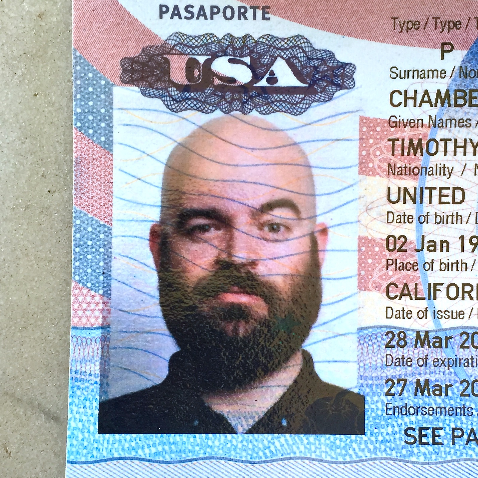 Tim Chambers  lives in Washington, D.C. and takes pictures of tarts made by his wife Christina Marie who is a  pastry chef .  Before that, he and his wife travelled around the world, visiting fifteen countries in three months, and before that, they quit their jobs and spent a summer in Haiti photographing people and projects as fellows for  a non-profit organization .  Before that, Tim rode the bus every day from his apartment in San Francisco to his job in Cupertino where he helped make photography software.  Before that, he lived in Sacramento, where he graduated from California State University with a degree in Photography.  Before that, he dropped out of school to work as a graphic designer in a print shop, and before that, he studied graphic design and computer science.  Before that, he worked as a web designer during the first dot com bubble, and before that, he grew up in Northern California.  He was born in Southern California, but doesn't remember much before that.